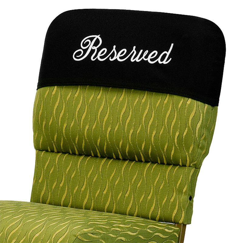 Chair Reserved Cover